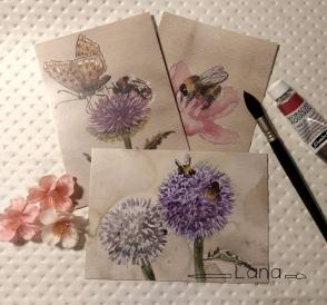 Postkarte_BieneSet